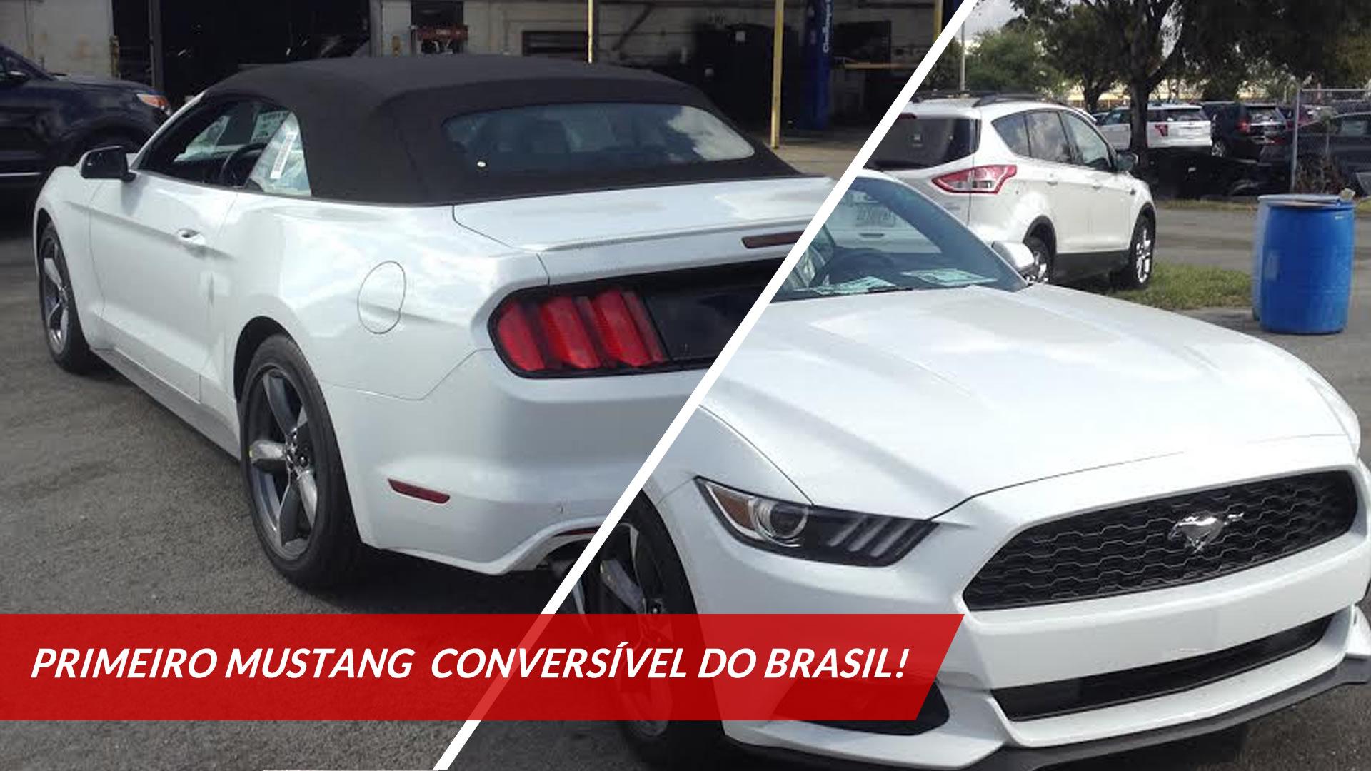 importação Ford Mustang Conversível