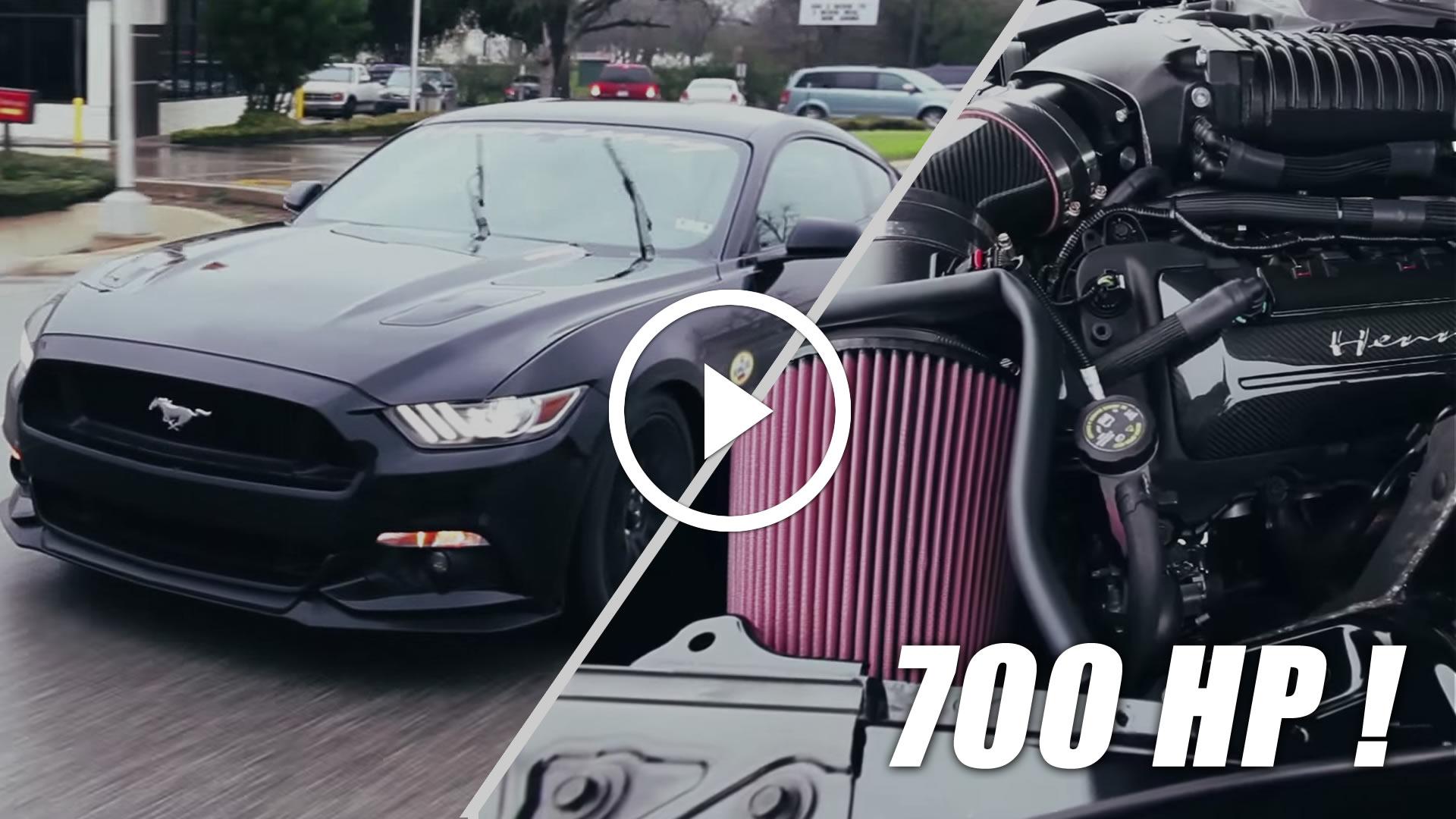 Hennessey Lança Ford Mustang GT de 700HP