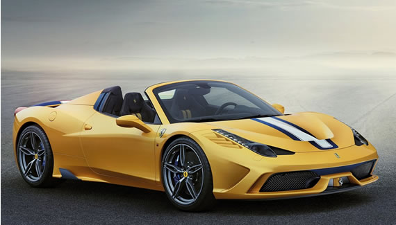 Importação direta Ferrari 458 Speciale a