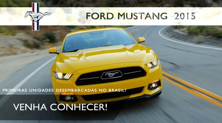 Ford Mustang fastback 2015 importação