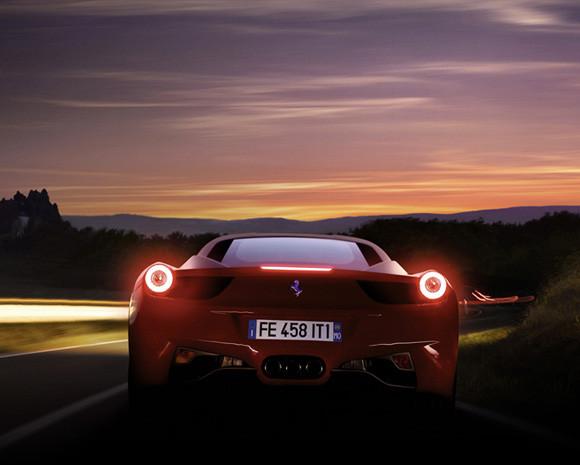Importação independente Ferrari 458