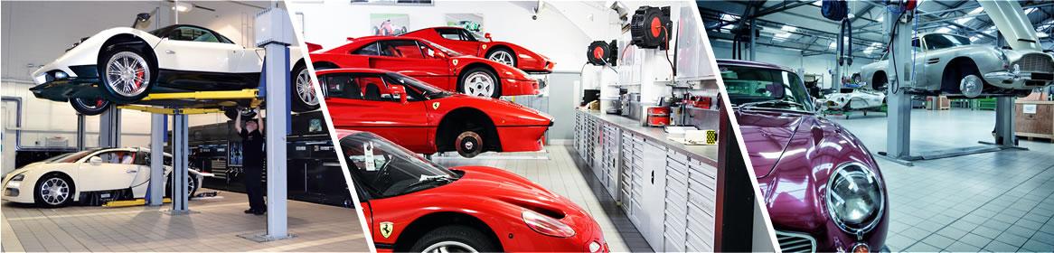Oficina carros exclusivos