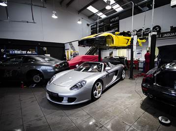 Manutenção carros importados