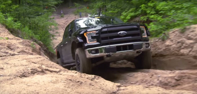 Teste do novo ford raptor
