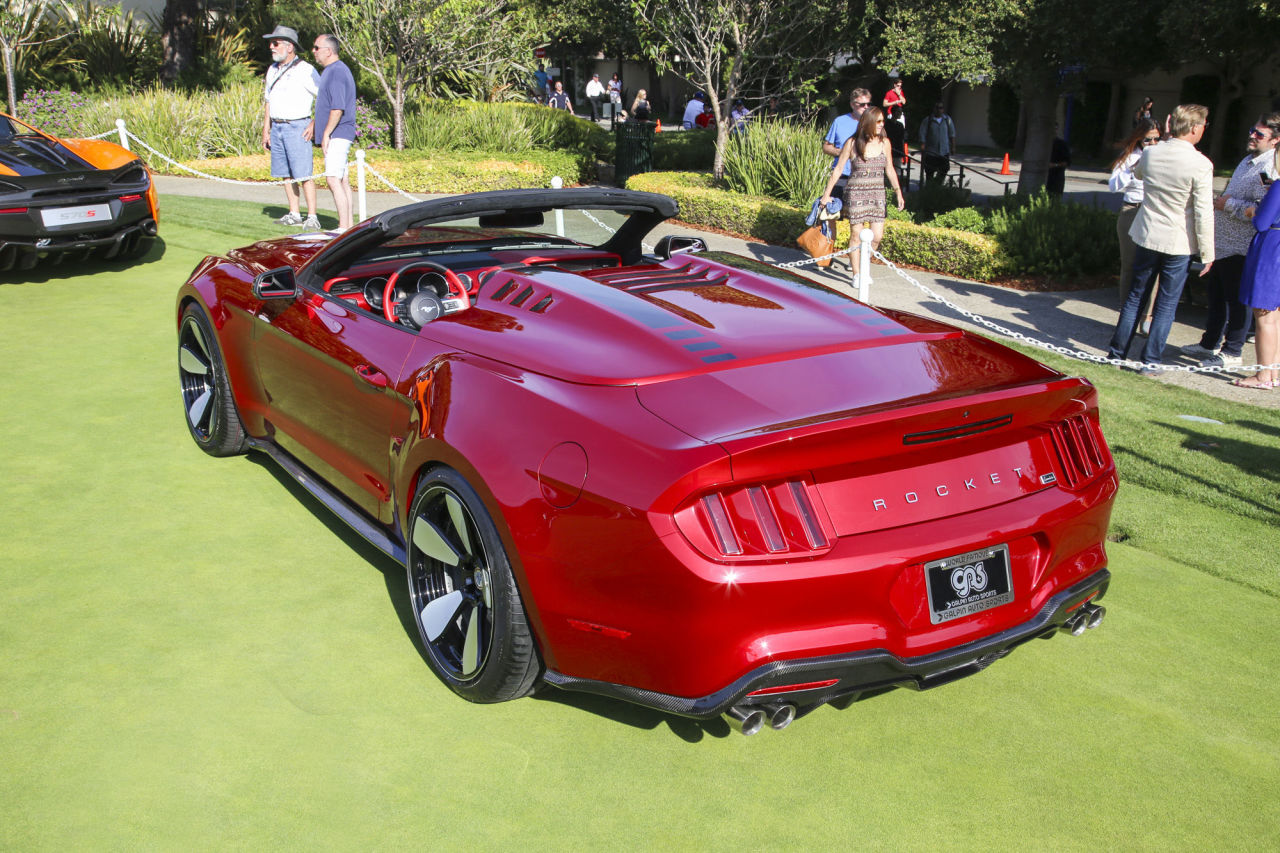 Ford Mustang fisker Concept