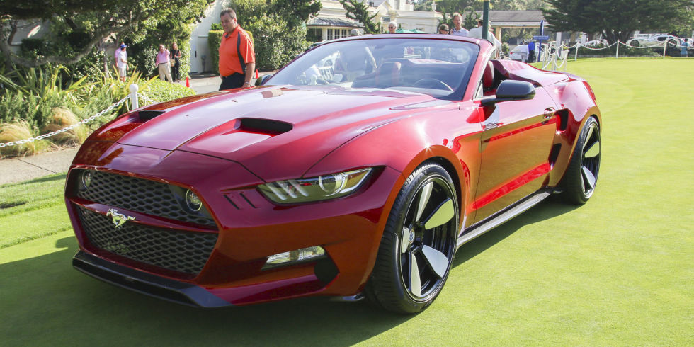 Mustang 2015 - Fisker Rocket