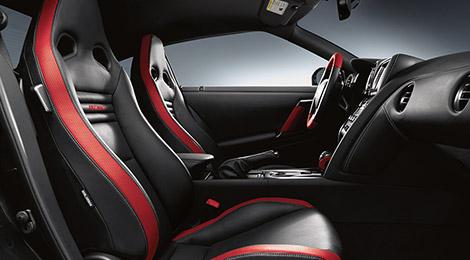 Interior Esportivo Nissan GTR