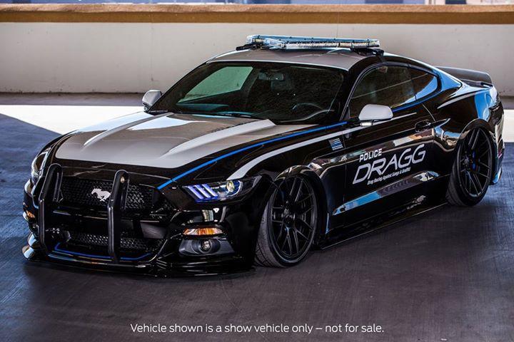 Ford Mustang Ecoboost da Polícia